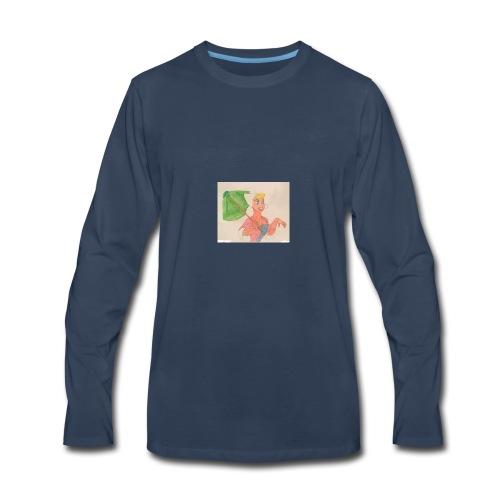 A Princess - Men's Premium Long Sleeve T-Shirt