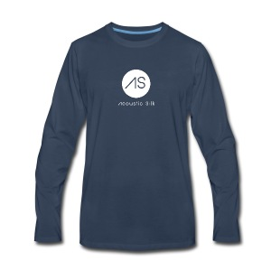 Acoustic Silk Clean - Men's Premium Long Sleeve T-Shirt
