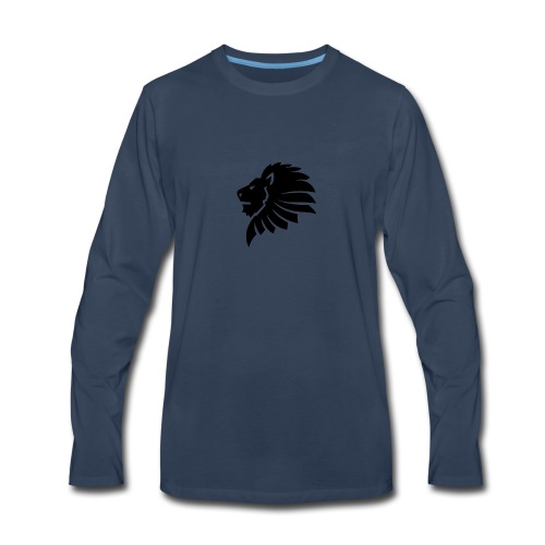 BLACK_LION - Men's Premium Long Sleeve T-Shirt