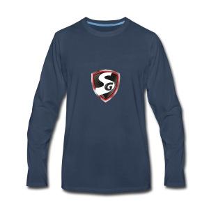 Original SimboiiGamer Logo - Men's Premium Long Sleeve T-Shirt