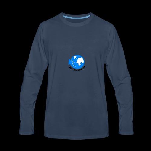 Global News Daily - Men's Premium Long Sleeve T-Shirt