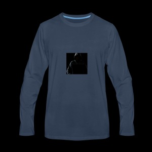 HOODED AJEV MERCH 1 - Men's Premium Long Sleeve T-Shirt