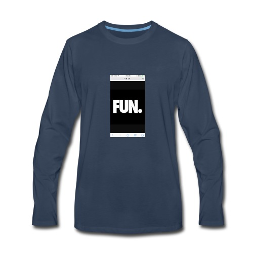 014Kadin fun - Men's Premium Long Sleeve T-Shirt