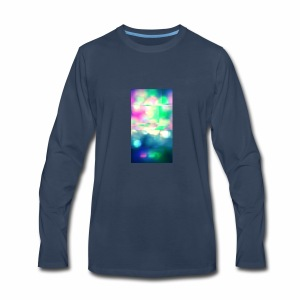 Glitchy Photography - Men's Premium Long Sleeve T-Shirt