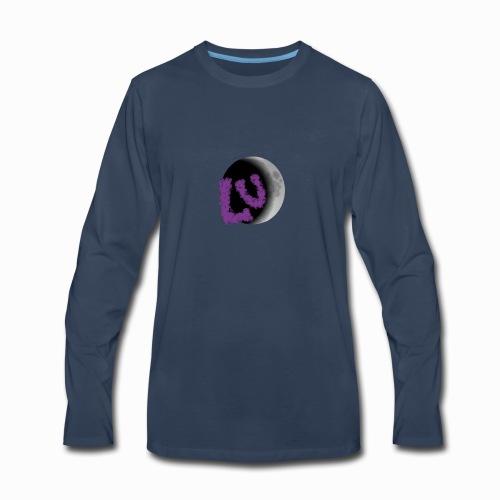 Lunar Eclipse - Men's Premium Long Sleeve T-Shirt