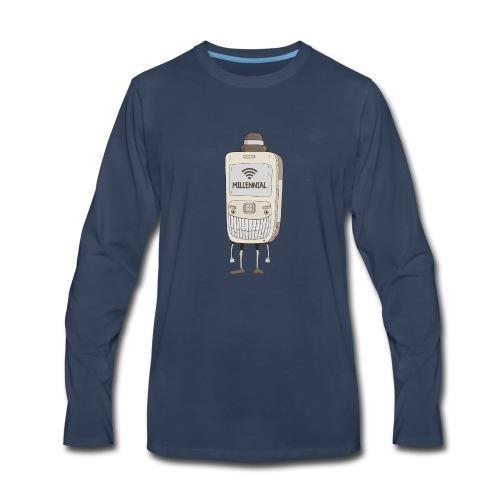 MILLENNIAL - Men's Premium Long Sleeve T-Shirt