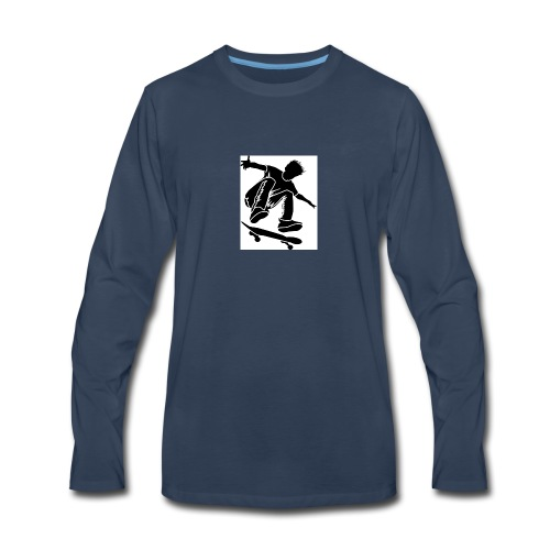 Churchies - Men's Premium Long Sleeve T-Shirt