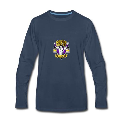 Never Give UP CENATION - Men's Premium Long Sleeve T-Shirt