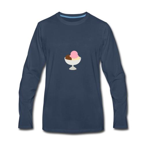 Ice Cream Sundae - Men's Premium Long Sleeve T-Shirt