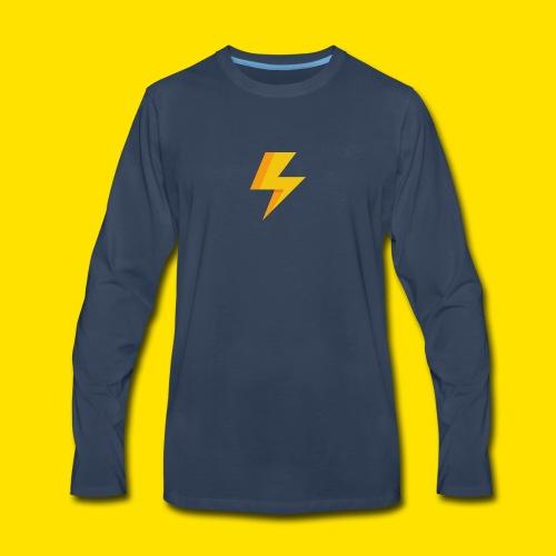 lightning icon - Men's Premium Long Sleeve T-Shirt