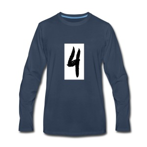 rouge 4 - Men's Premium Long Sleeve T-Shirt