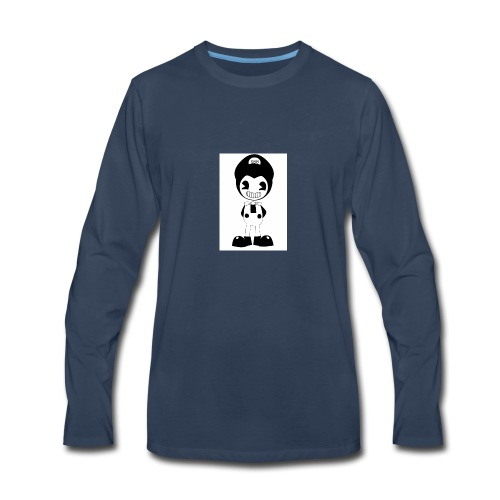 SuperBendyBros Design - Men's Premium Long Sleeve T-Shirt