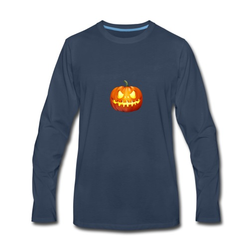 halloween-pumpkin - Men's Premium Long Sleeve T-Shirt