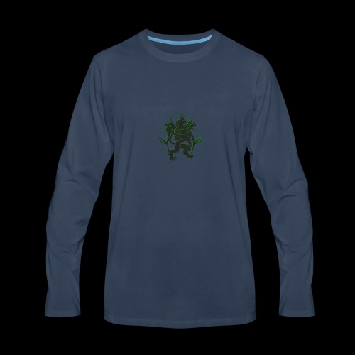 The AfrLoy logo - Men's Premium Long Sleeve T-Shirt