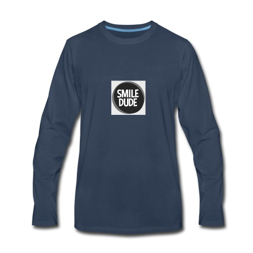 smiledude - Men's Premium Long Sleeve T-Shirt
