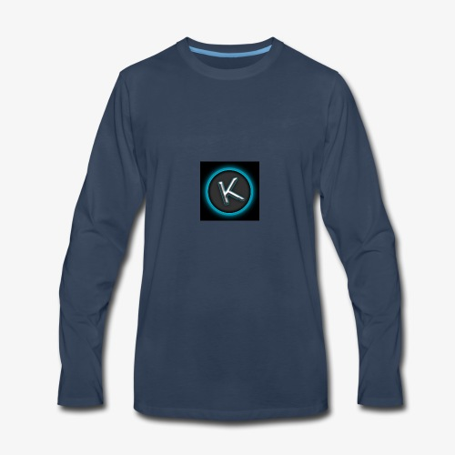 K Logo - Men's Premium Long Sleeve T-Shirt