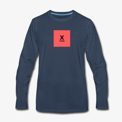 X Team 'Red' - Men's Premium Long Sleeve T-Shirt