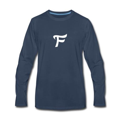 Fewn White Logo - Men's Premium Long Sleeve T-Shirt