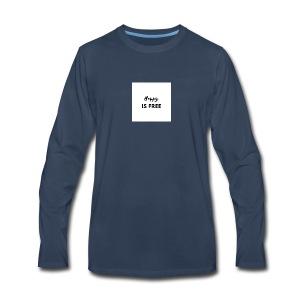 HAPPY 1 - Men's Premium Long Sleeve T-Shirt