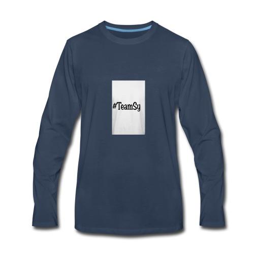 #TeamSy - Men's Premium Long Sleeve T-Shirt