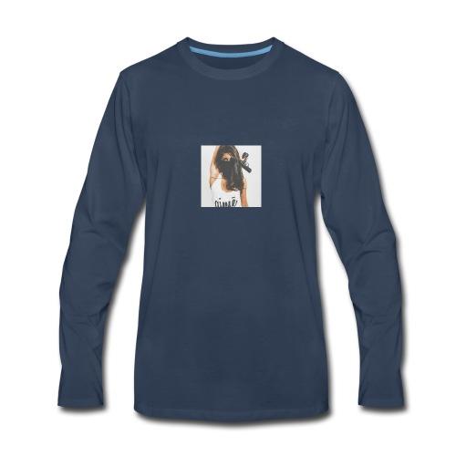 Deadly Woman LOGO - Men's Premium Long Sleeve T-Shirt