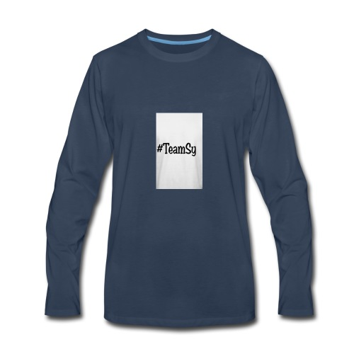 #TeamSy - Men's Premium Long Sleeve T-Shirt