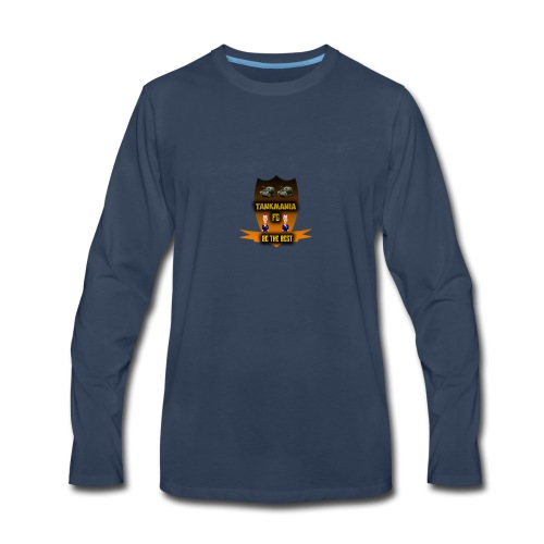 tankamania logo - Men's Premium Long Sleeve T-Shirt