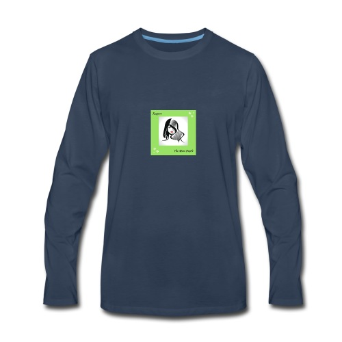 Belle-7- - Men's Premium Long Sleeve T-Shirt