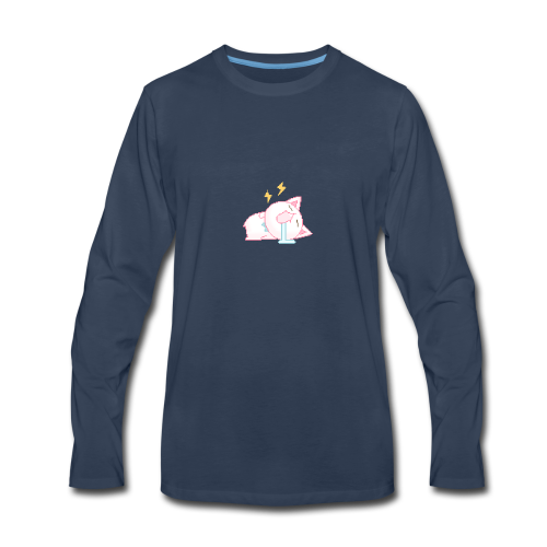 Creedsus LazyCat DZN - Men's Premium Long Sleeve T-Shirt