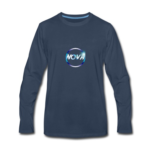 NOVA EMBLEM - Men's Premium Long Sleeve T-Shirt