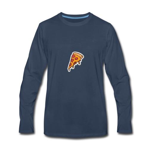 pizza - Men's Premium Long Sleeve T-Shirt