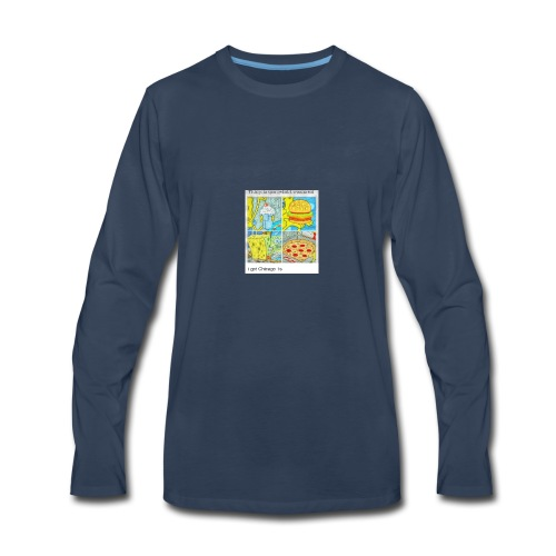 thing I would eat - Men's Premium Long Sleeve T-Shirt
