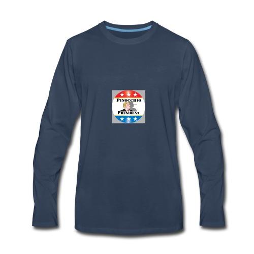 Pinocchio President - Men's Premium Long Sleeve T-Shirt