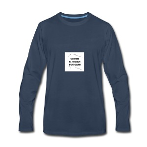DON'T CRUSH IT WHEN YOU CAN! - Men's Premium Long Sleeve T-Shirt