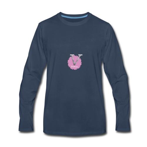 V LOGO NEW - Men's Premium Long Sleeve T-Shirt