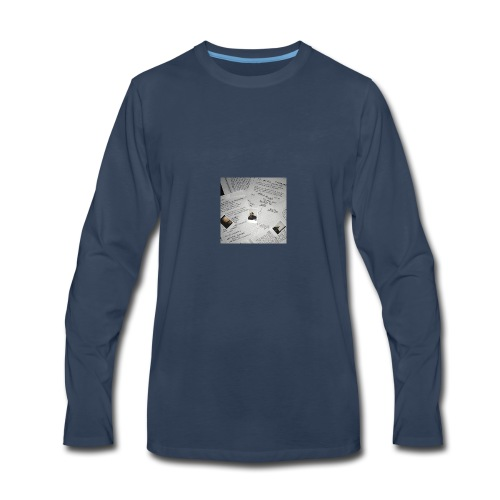 I FEEL NUMB - Men's Premium Long Sleeve T-Shirt