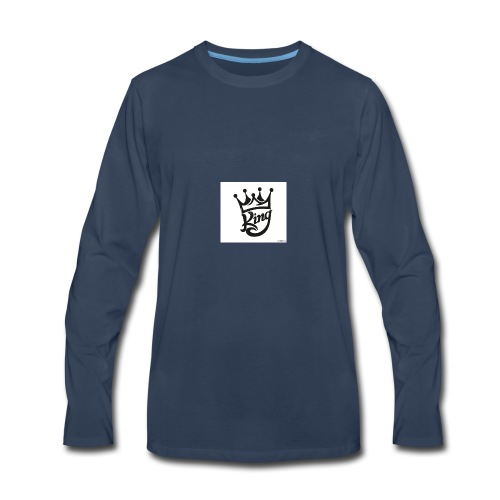 king royal logo - Men's Premium Long Sleeve T-Shirt