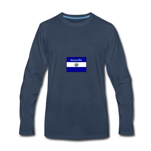 652fedbe86131b439e3b58ea82451d89 el salvador flag - Men's Premium Long Sleeve T-Shirt