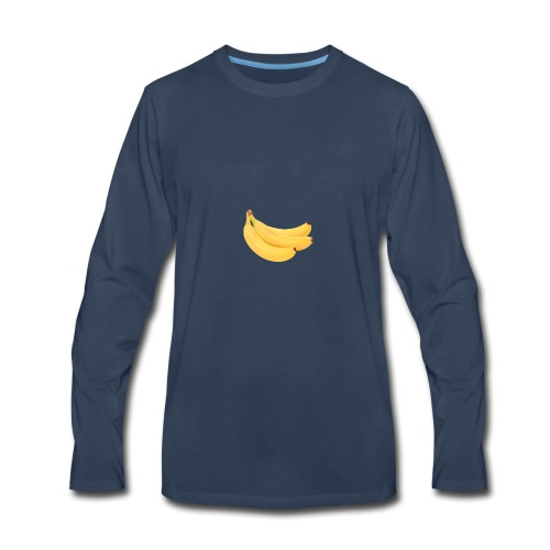 Banana merch - Men's Premium Long Sleeve T-Shirt