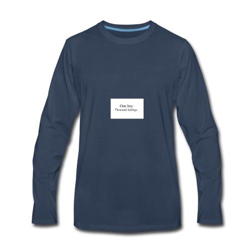 One boy - Men's Premium Long Sleeve T-Shirt