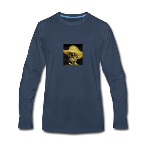 smoking dead - Men's Premium Long Sleeve T-Shirt