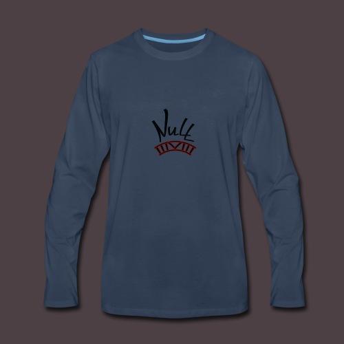 Null Logo - Men's Premium Long Sleeve T-Shirt