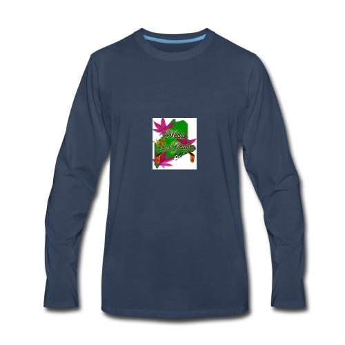 Maine Dab Queen - Men's Premium Long Sleeve T-Shirt