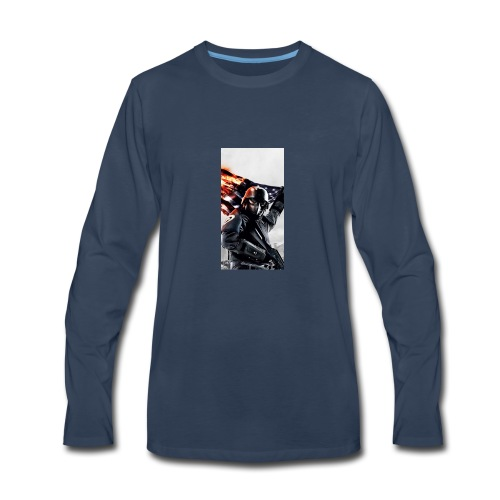 Tanker phone case - Men's Premium Long Sleeve T-Shirt