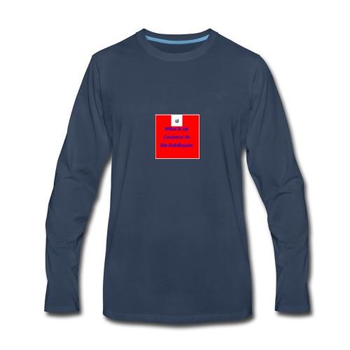 RobRoyale's First Shirt - Men's Premium Long Sleeve T-Shirt