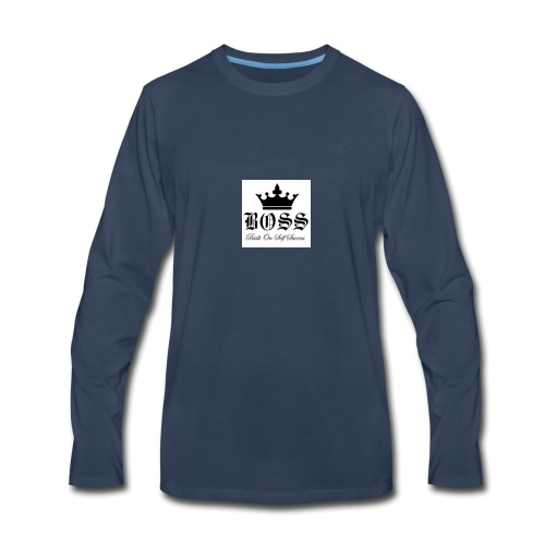 Boss t-shirt - Men's Premium Long Sleeve T-Shirt
