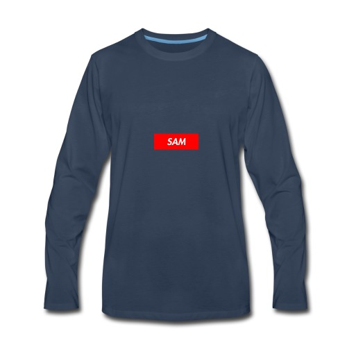 SAM - Men's Premium Long Sleeve T-Shirt