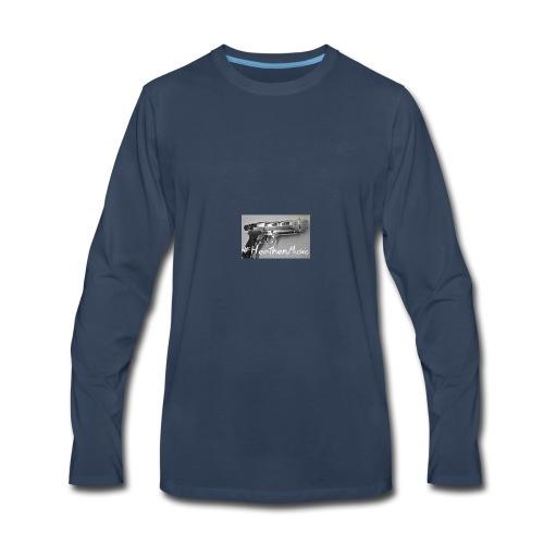 heathen music - Men's Premium Long Sleeve T-Shirt