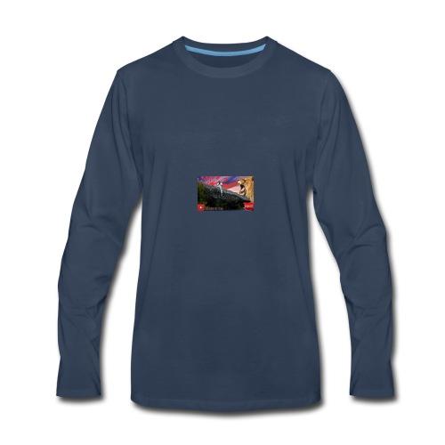 Supreme tez merch - Men's Premium Long Sleeve T-Shirt