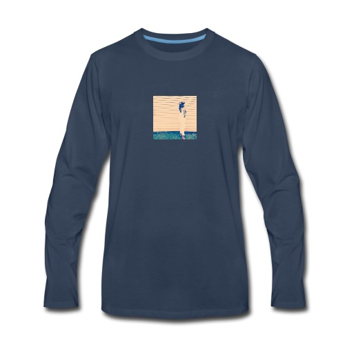 Supermodel 1 Hoodie - Men's Premium Long Sleeve T-Shirt